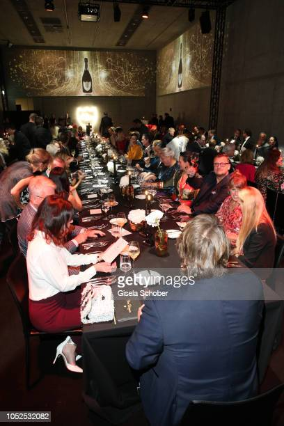 A general view during the Dom Perignon 'The Legacy' event on October 17 2018 in Munich Germany
