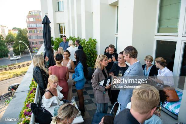 General view during the Douglas x Anastasia Beverly Hills Influencer Cocktail at Soho House on July 02, 2019 in Berlin, Germany.