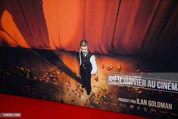 General view during the 'Edmond' Paris Premiere photocall at Cinema Pathe Beaugrenelle on December 17 2018 in Paris France