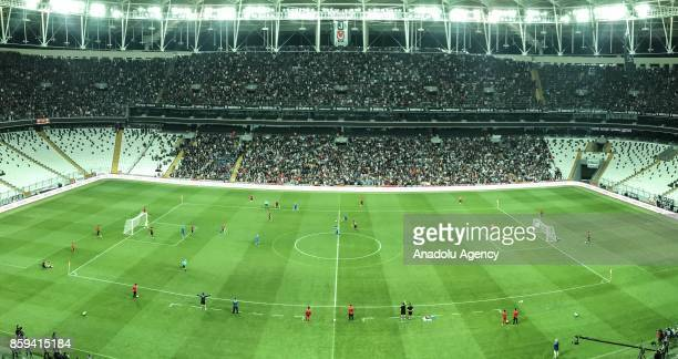 A general view during the European Amputee Football Federation European Championship final match between Turkey and England at Vodafone Park in...