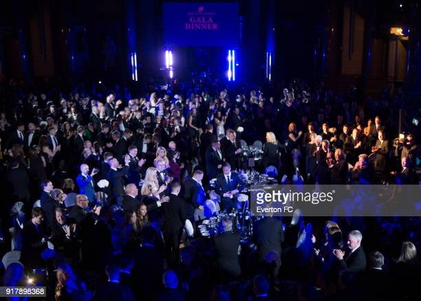 A general view during the Everton in the Community Gala Dinner at St Georges Hall on February 13 2018 in Liverpool England
