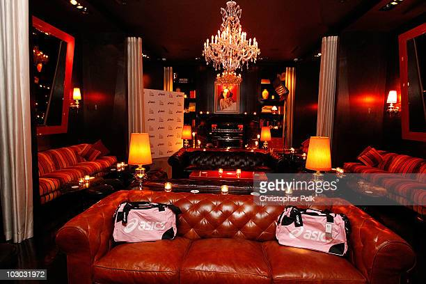 A general view during the exclusive after party for Rihanna's LA show hosted by Asics and Drai's Hollywood at Drai's Hollywood on July 21 2010 in...