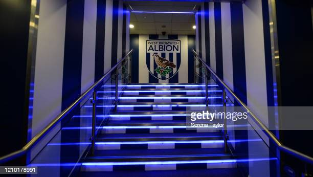 General view during the FA Cup Fifth Round match between West Bromwich Albion and Newcastle United at The Hawthorns on March 03, 2020 in West...