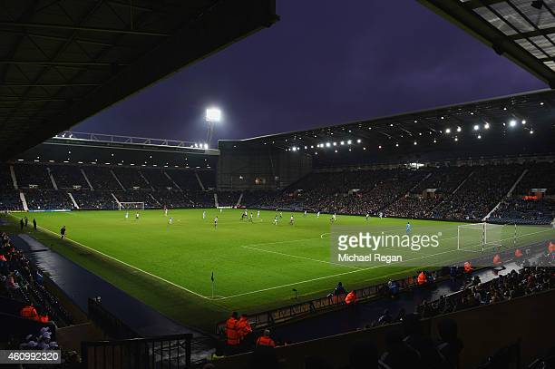 A general view during the FA Cup Third Round match between West Bromwich Albion and Gateshead at The Hawthorns on January 3 2015 in West Bromwich...