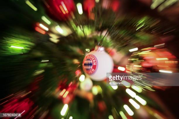 A general view during the FC Bayern Muenchen Christmas Party at Palais Lenbach on December 08 2018 in Munich Germany