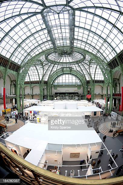 A general view during the FIAC 2012 international contemporary art fair at the Grand Palais on October 17 2012 in Paris France