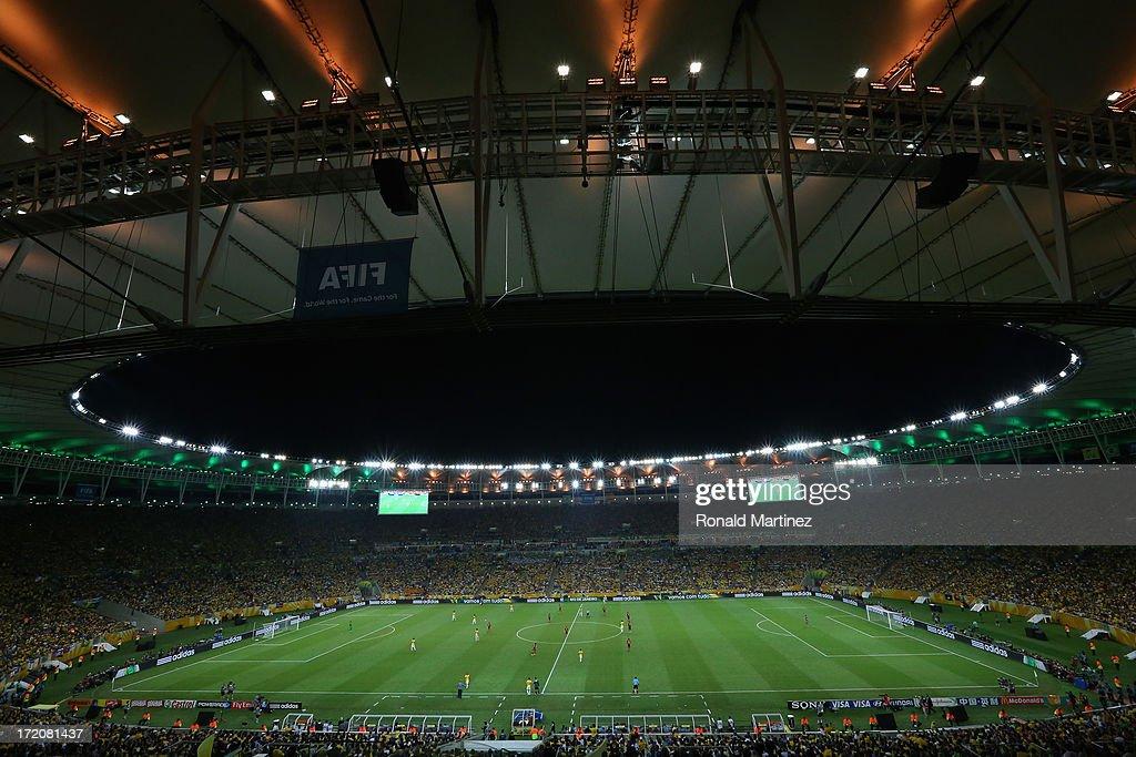 Brazil v Spain: Final - FIFA Confederations Cup Brazil 2013 : News Photo