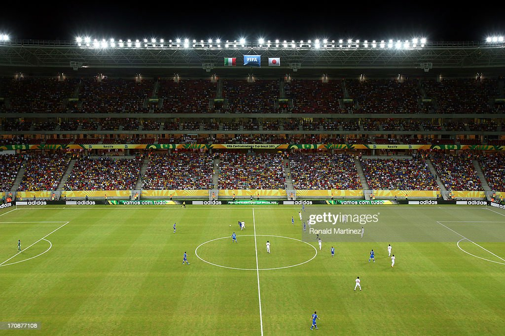 Italy v Japan: Group A - FIFA Confederations Cup Brazil 2013 : News Photo