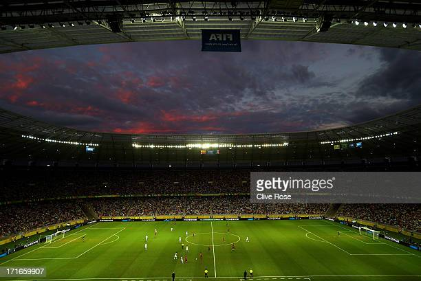 General View during the FIFA Confederations Cup Brazil 2013 Semi Final match between Spain and Italy at Castelao on June 27 2013 in Fortaleza Brazil