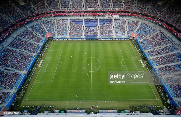 A general view during the FIFA Confederations Cup Russia 2017 Group A match between Russia and New Zealand at Saint Petersburg Stadium on June 17...
