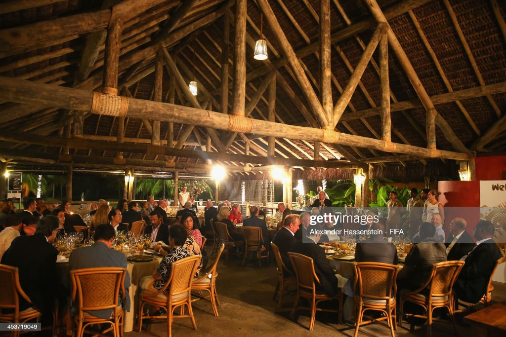 General view during the FIFA Executive Committee members dinner at Hotel Tivoli Ecoresort Praia do Forte on December 4, 2013 in Bahia, Brazil.