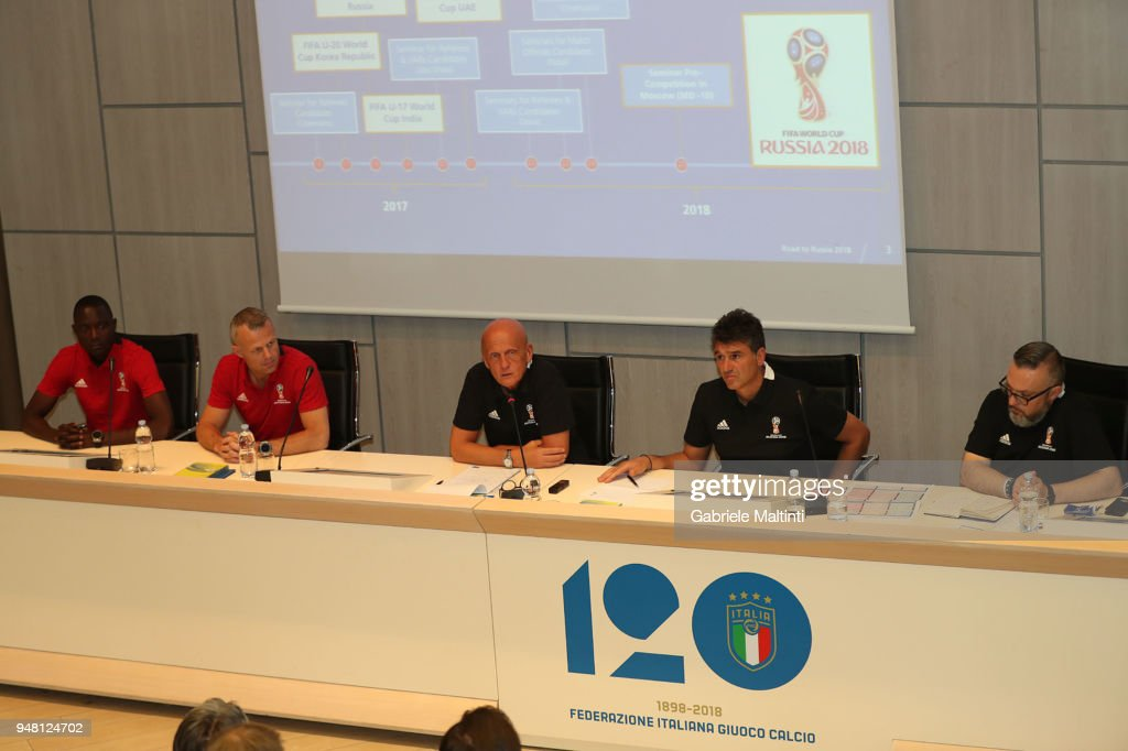 FIFA Referee Seminar - Media Day
