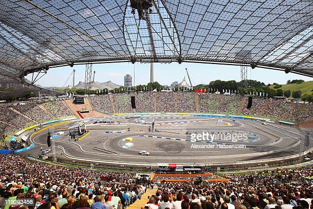 General view during the final round at Olympiastadion on July 17 2011 in Munich Germany