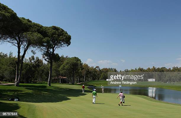 A general view during the final round of the Turkish Airlines Challenge hosted by Carya Golf Club on May 2 2010 in Belek Turkey