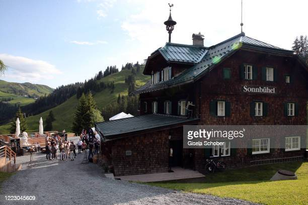 A general view during the first Ladies Day and start of the Queens Club hosted by Maria HoeflRiesch on June 26 2020 at Berggasthof Sonnbuehel in...