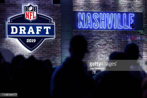 General view during the first round of the NFL Draft on April 25 2019 in Nashville Tennessee