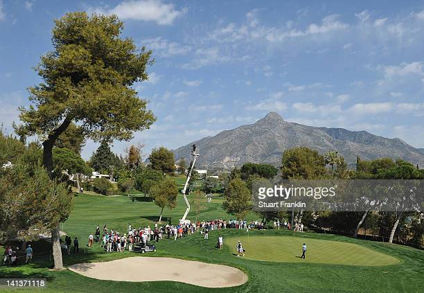 A general view during the first round of the Open de Andalucia Costa del Sol at Aloha golf club on March 15 2012 in Marbella Spain