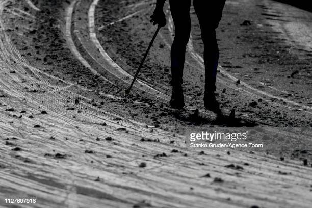 A general view during the FIS Nordic World Ski Championships Women's Cross Country Classic on February 26 2019 in Seefeld Austria