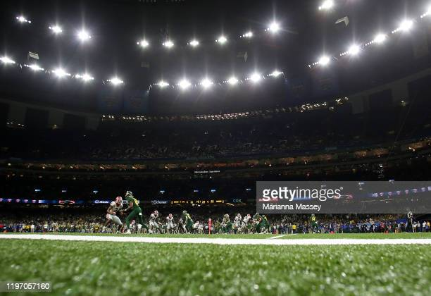 General view during the fourth quarter in the Georgia Bulldogs v Baylor Bears during the Allstate Sugar Bowl at Mercedes Benz Superdome on January...