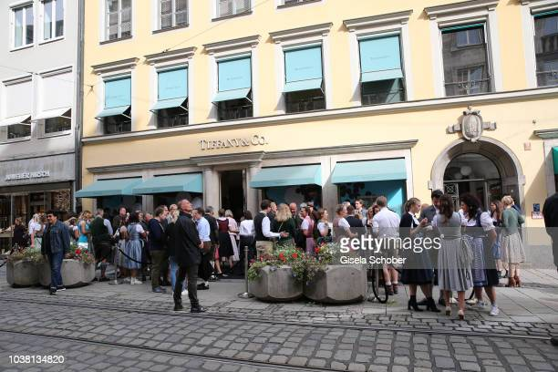 A general view during the 'Fruehstueck bei Tiffany' at Tiffany Store ahead of the Oktoberfest on September 22 2018 in Munich Germany