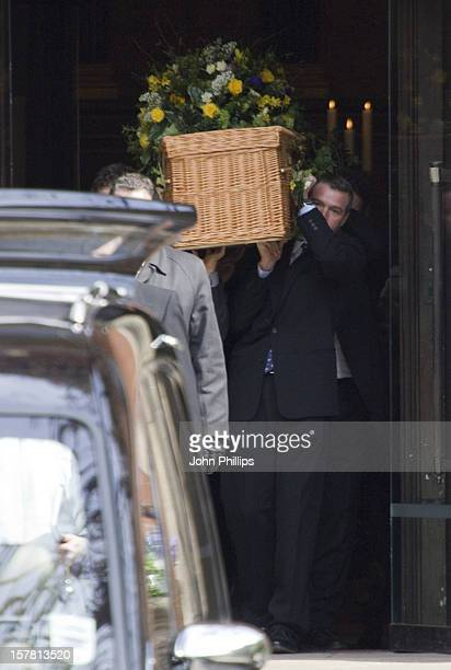 General View During The Funeral Of Corin William Redgrave St Paul'S Church Covent Garden London