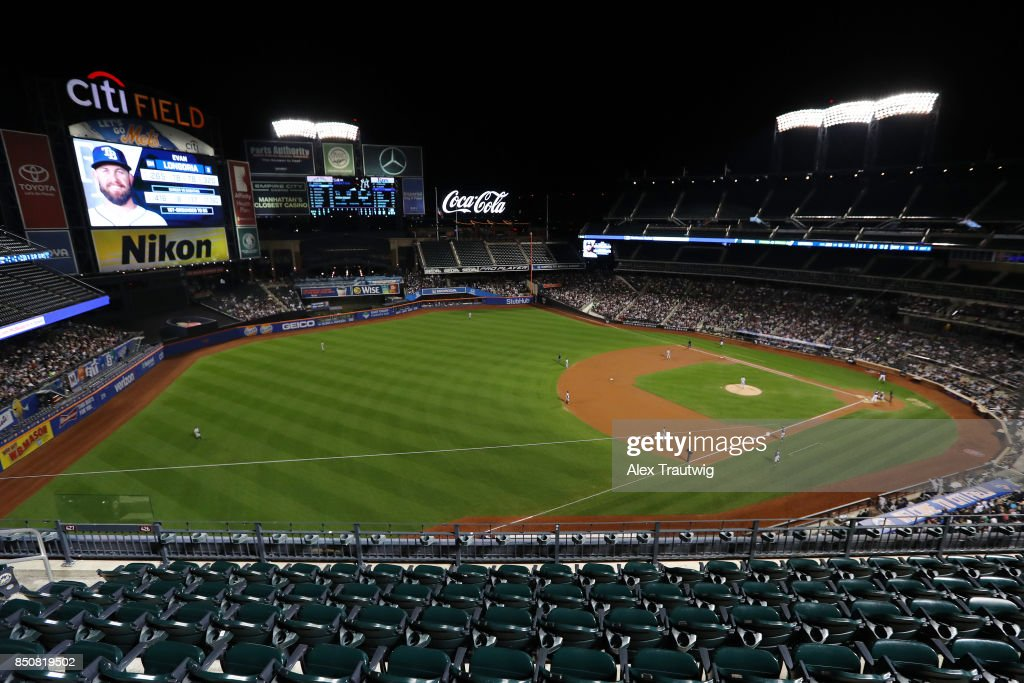 A general view during the game between the New York Yankees and Tampa Bay Rays at Citi Field on Monday, September 11, 2017 in the Queens borough of New York City.
