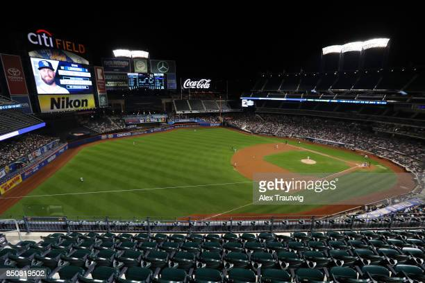 A general view during the game between the New York Yankees and Tampa Bay Rays at Citi Field on Monday September 11 2017 in the Queens borough of New...