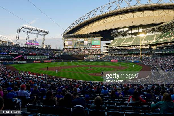 General view during the game between the Seattle Mariners and the St. Louis Cardinals at T-Mobile Park on July 03, 2019 in Seattle, Washington.
