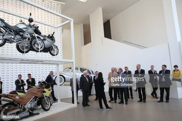 A general view during the Gentlemen Art Lunch at Pinakothek der Moderne on March 13 2017 in Munich Germany