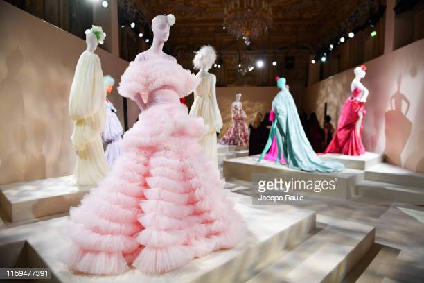 General view during the Giambattista Valli Haute Couture Fall/Winter 2019 2020 show as part of Paris Fashion Week on July 01, 2019 in Paris, France.