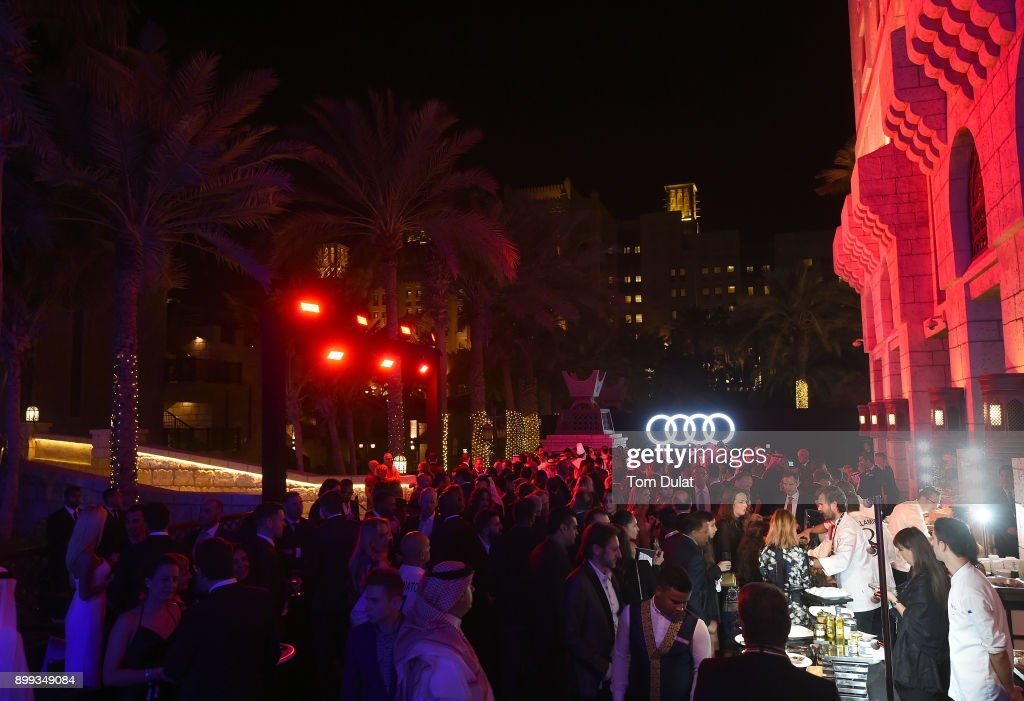 General view during the Globe Soccer Awards 2017 on December 28, 2017 in Dubai, United Arab Emirates.
