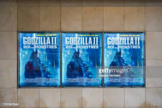 General view during the Godzilla II Roi des Monstres Premiere at Le Grand Rex on May 26 2019 in Paris France