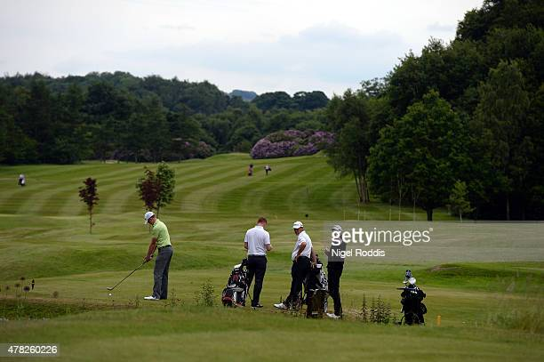 A general view during the Golfbreakscom PGA Fourball Championship North Qualifier at Woodsome Hall Golf Course on June 24 2015 in Huddersfield England