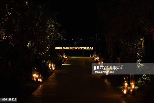 A general view during the Grand Opening of Bulgari Dubai Resort on December 5 2017 in Dubai United Arab Emirates