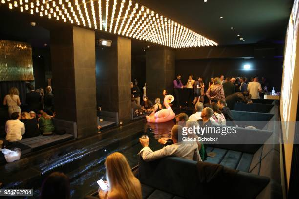 General view during the Grand Opening of Roomers Spa by Shan Rahimkhan on May 4, 2018 in Munich, Germany.