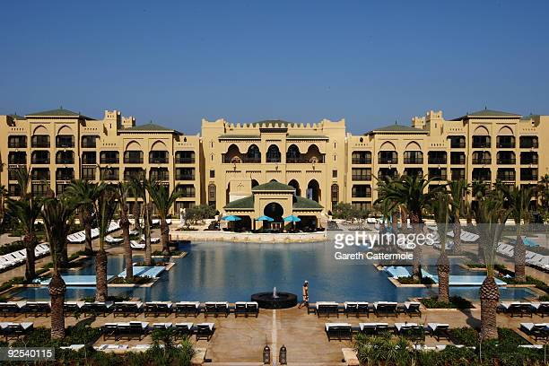 A general view during the grand opening of the Mazagan Beach Resort on October 30 2009 in El Jadida Morocco Kerzner International have launched a...