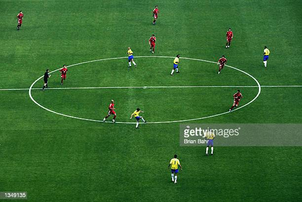 General view during the Group C match between Brazil and Turkey at the World Cup Group Stage played at the Ulsan-Munsu World Cup Stadium, Ulsan,...