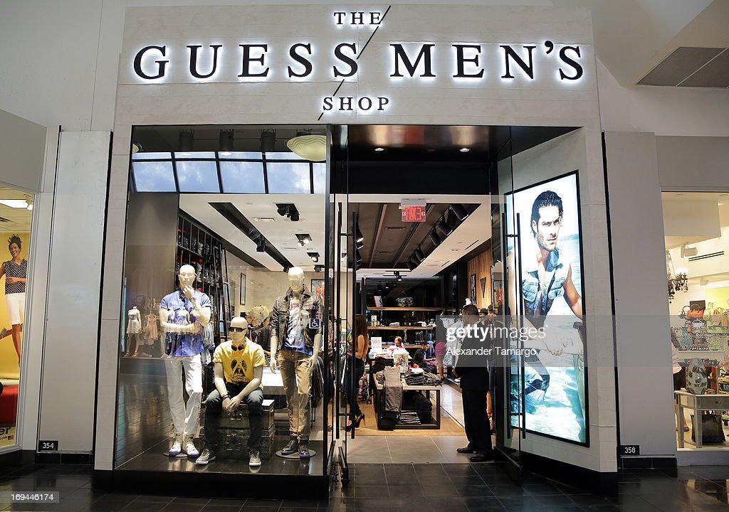 guess men s grand opening miami international mall photos and