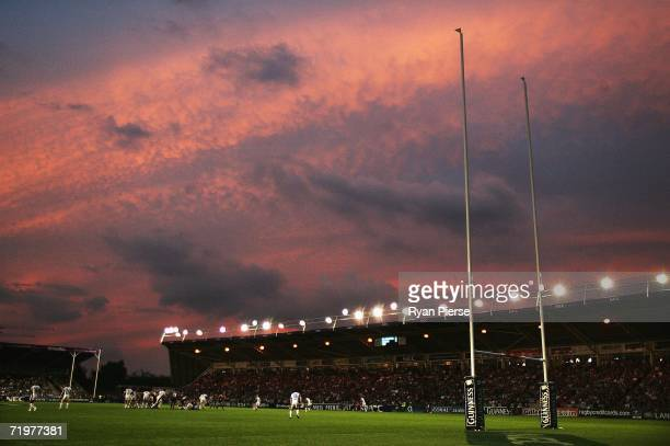 A general view during the Guinness Premiership match between NEC Harlequins and Leicester Tigers at Twickenham Stoop on September 23 2006 in London...