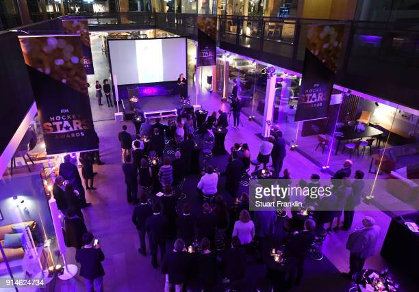 A general view during the Hockey Star Awards night at Stilwerk on February 5 2018 in Berlin Germany
