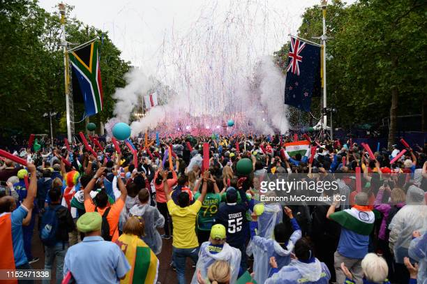 General view during the ICC Cricket World Cup 2019 Opening Party at The Mall on May 29 2019 in London England