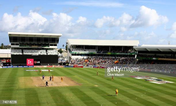 General view during the ICC Cricket World Cup Final between Australia and Sri Lanka at the Kensington Oval on April 28, 2007 in Bridgetown, Barbados.