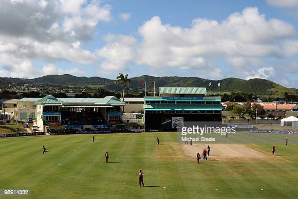 General view during the ICC T20 Women's World Cup Group A match between West Indies and England at Warner Park on May 7 2010 in St Kitts Saint Kitts...