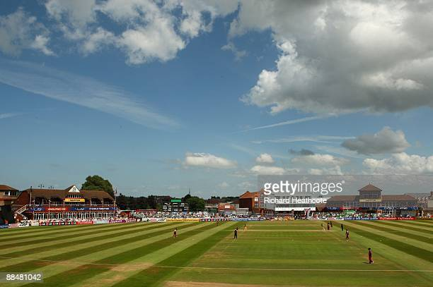 A general view during the ICC Women's Twenty20 World Cup match between West Indies and Australia at The County Ground on June 14 2009 in Taunton...