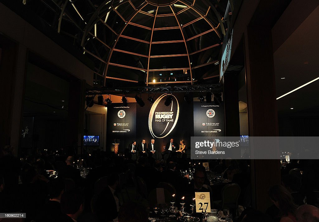 A general view during the inaugural Premiership Rugby Hall of Fame Ball at the Hurlingham Club on February 7, 2013 in London, England.