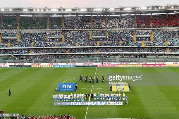 A general view during the international friendly match between Italy and Finland on June 6 2016 in Verona Italy