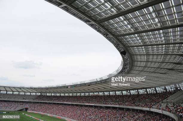 A general view during the international rugby friendly match between Japan and Ireland at Ajinomoto Stadium on June 24 2017 in Tokyo Japan