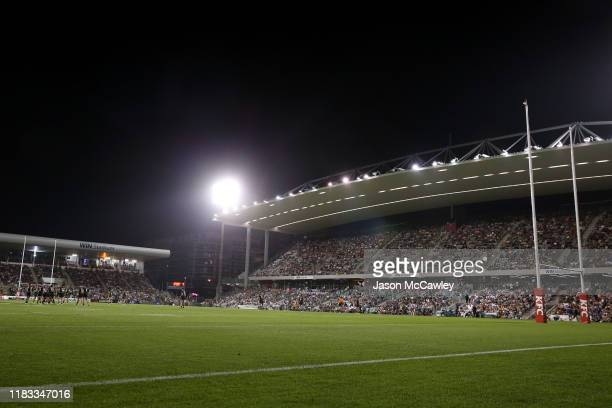 General view during the International Rugby League Test Match between the Australian Kangaroos and the New Zealand Kiwis at WIN Stadium on October...