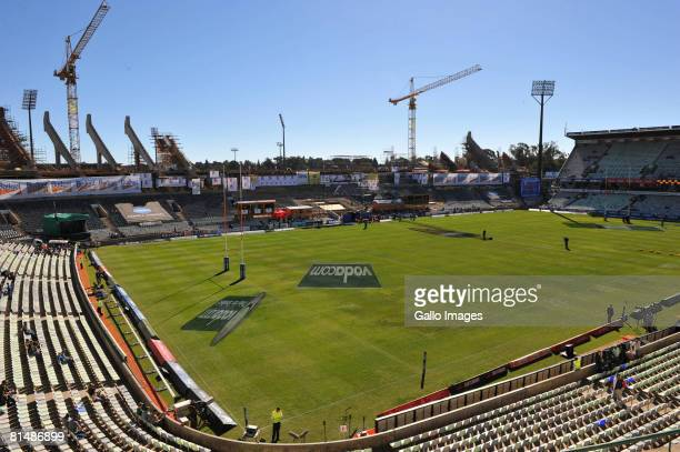 General view during the International rugby match between South Africa and Wales held at the Vodacom Park on June 7 2008 in Bloemfontein, South...