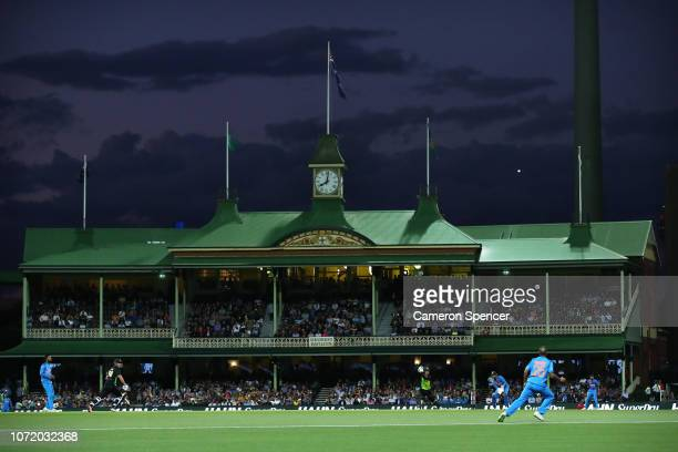 General view during the International Twenty20 match between Australia and India at Sydney Cricket Ground on November 25, 2018 in Sydney, Australia.